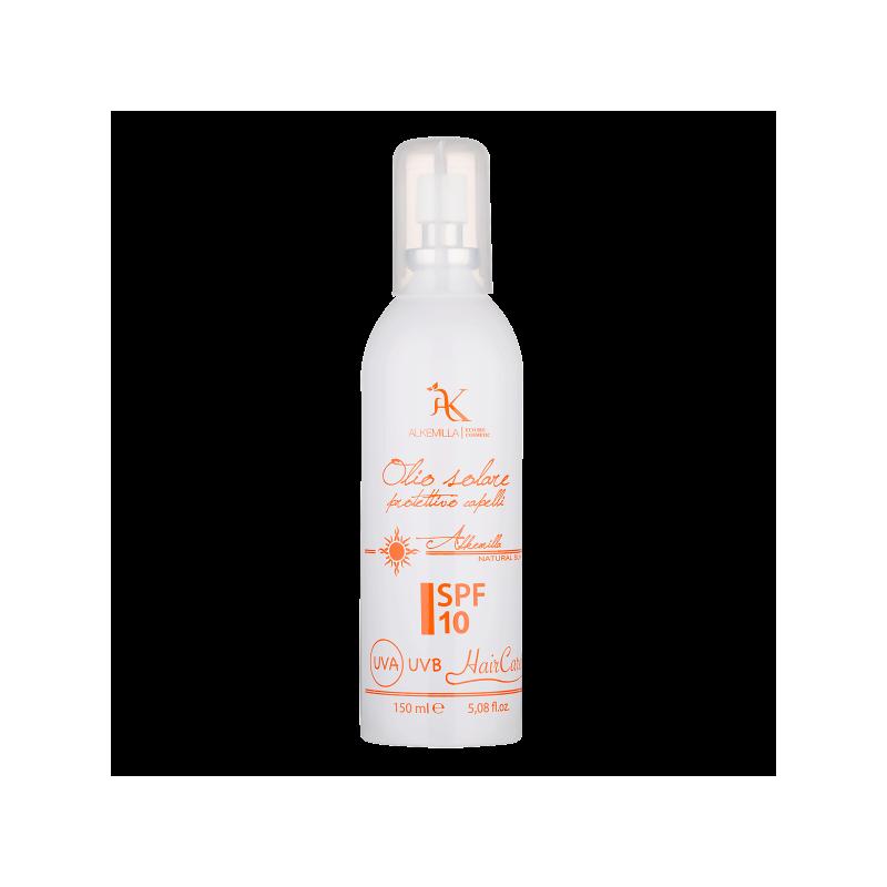 Olio Solare Protezione Capelli Spray SPF 10 - Alkemilla Eco Bio Cosmetics