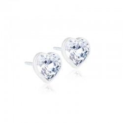 Gioiello collezione  Heart B16 Crystal - Blomdahl Orecchini in plastica