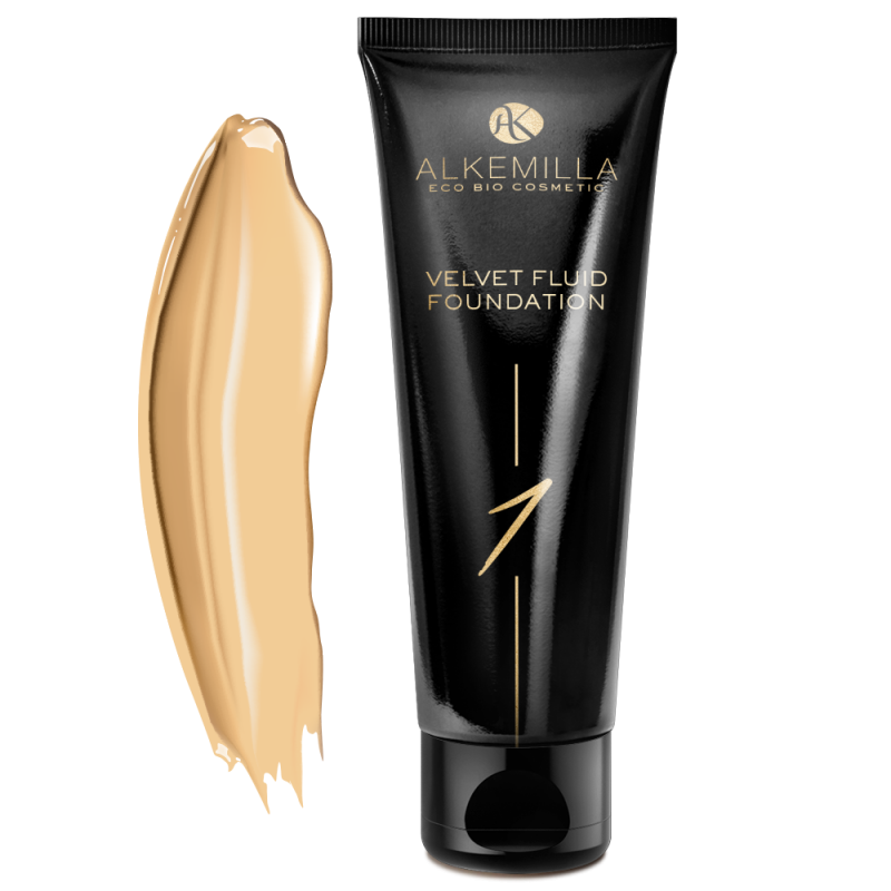 Velvet Fluid Foundation Alkemilla 01