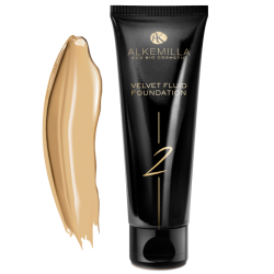 Velvet Fluid Foundation Alkemilla 02