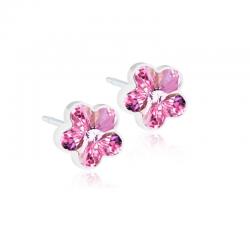 Orecchini Fiori Rose B22 Blomdahl