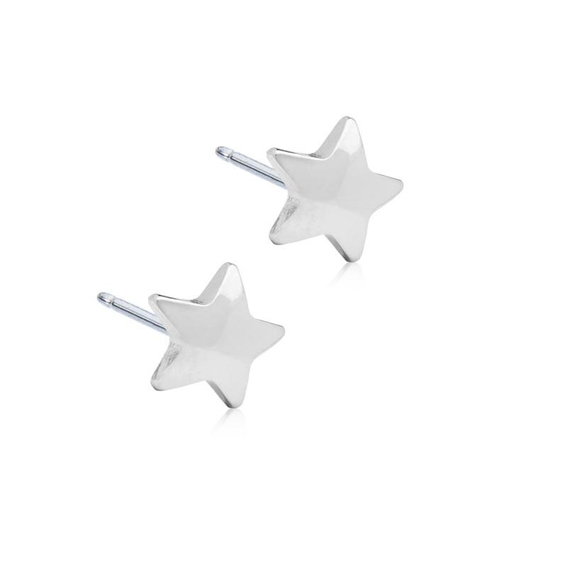 Orecchini Stella Argentato E14 Blomdahl