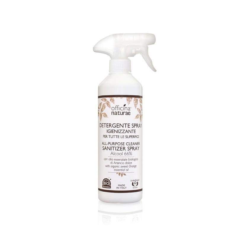 Detergente Spray Igienizzante per tutte le superfici Officina Naturae.