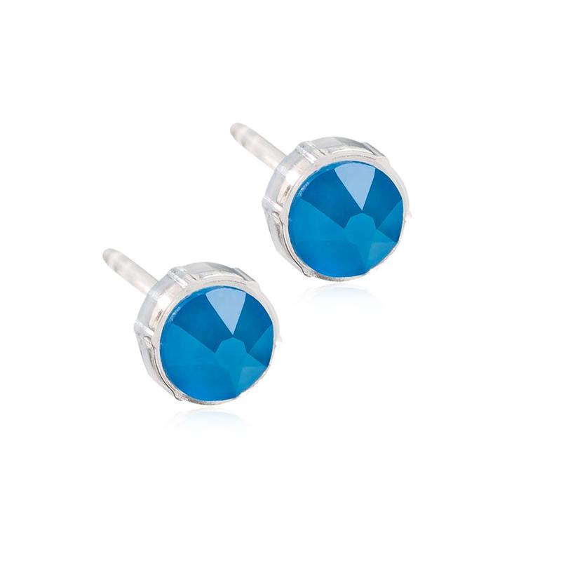 Orecchini Beta B40 Blu Elettrico Blomdahl
