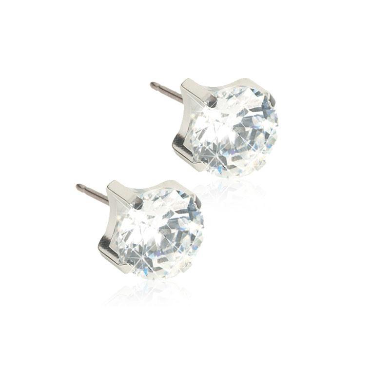 Orecchini Tiffany grande Blomdahl Collezione Diadema Crystal I6