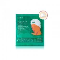 Maschera Capelli In Tessuto Effetto Termo-Vapore Purificante e Antiforfora N.5 Gyada Cosmetics.
