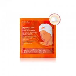 Maschera Capelli In Tessuto Effetto Termo-Vapore Illuminante e Rivitalizzante N.6 Gyada Cosmetics.