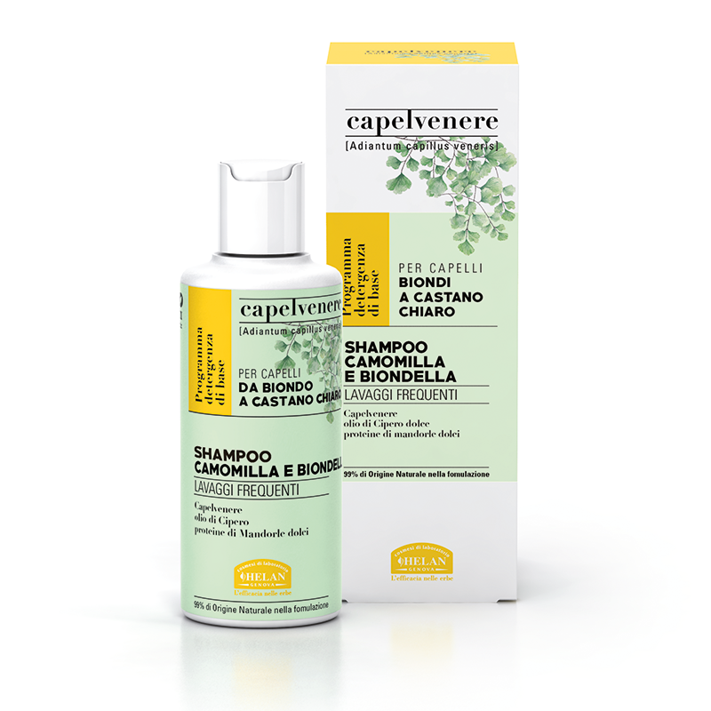 Shampoo Camomilla e Biondella Helan