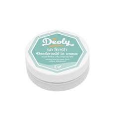 Deoly Deodorante in crema super fresco a luuunga durata.