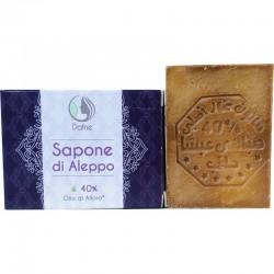 Sapone di aleppo 40% olio di alloro - Dafne